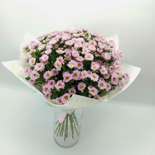 Букет из хризантемы сантини: букеты цветов на заказ Flowwow