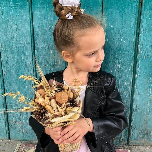Ореховое 1 сентября: букеты цветов на заказ Flowwow