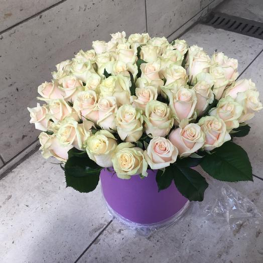 Коробка «Осенняя роза»
