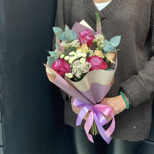 Тёплый вечер: букеты цветов на заказ Flowwow