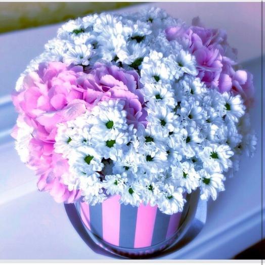 Розовые облаке: букеты цветов на заказ Flowwow