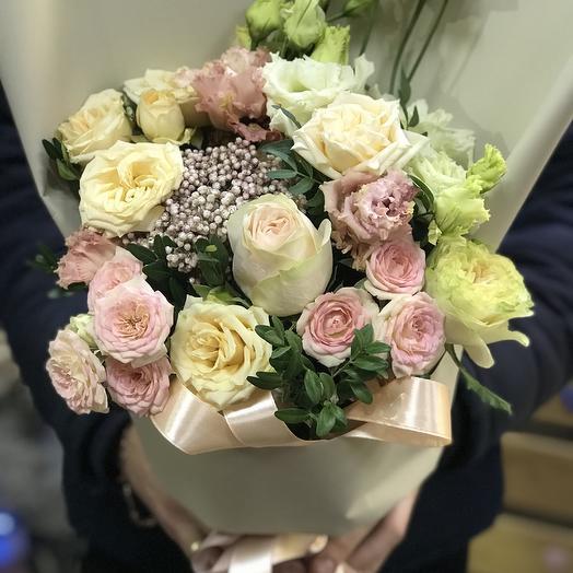 ЛАСКОВАЯ ДЖУЛИ: букеты цветов на заказ Flowwow
