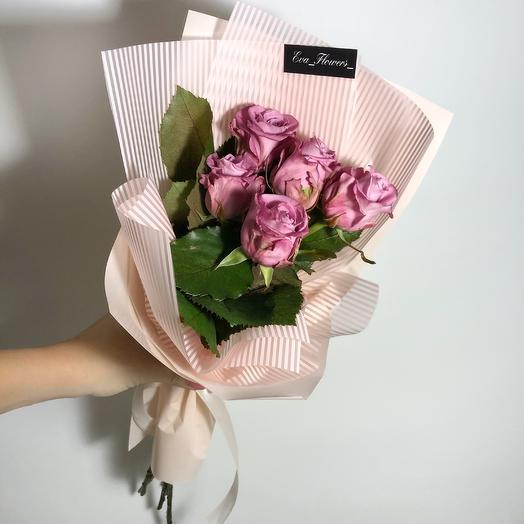 5 стильных роз: букеты цветов на заказ Flowwow