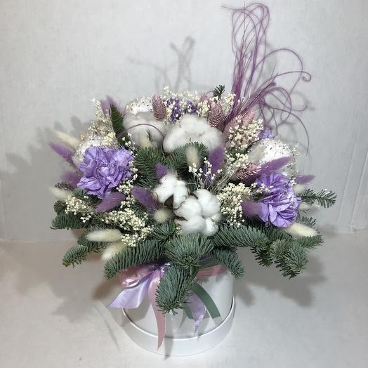Снежный вальс: букеты цветов на заказ Flowwow