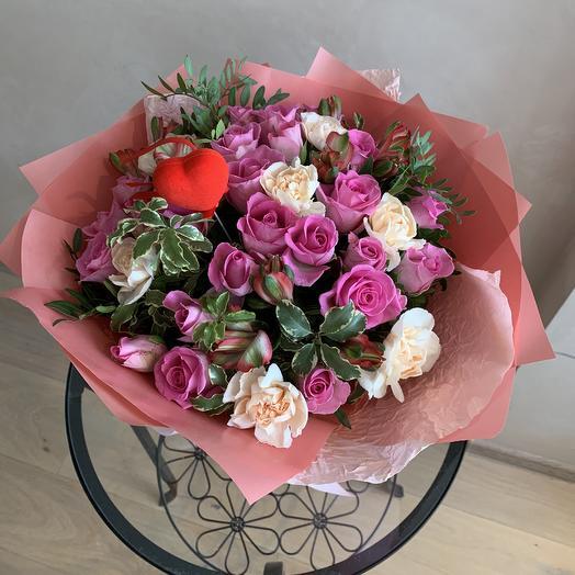 Букет « Моей милашке»: букеты цветов на заказ Flowwow