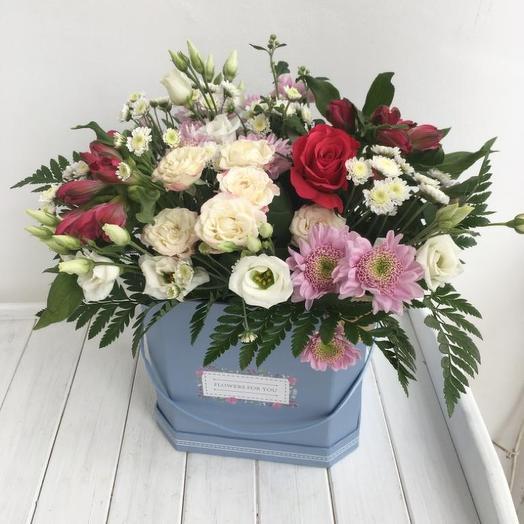 Коробка цветов 1
