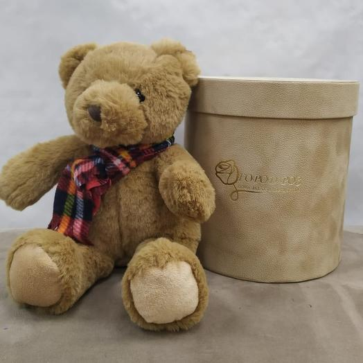 Медвеженок 20 см: букеты цветов на заказ Flowwow