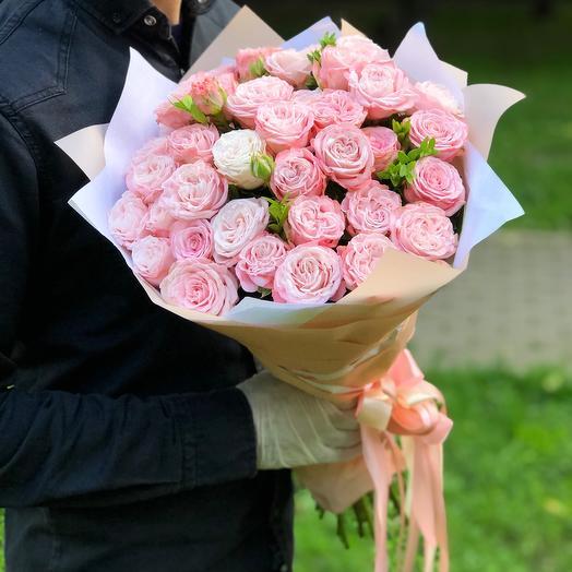 """Нежнейши розы """"Madam Bombastic"""""""