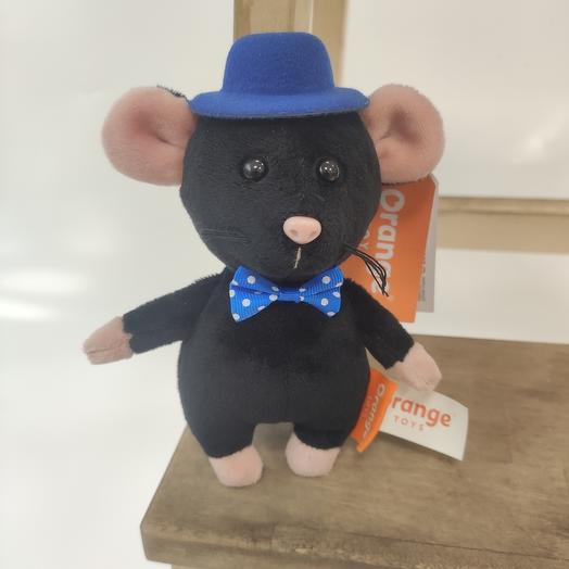 Мягкая игрушка Шышел Мышел в шляпе