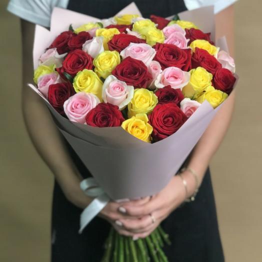 35 роза микс