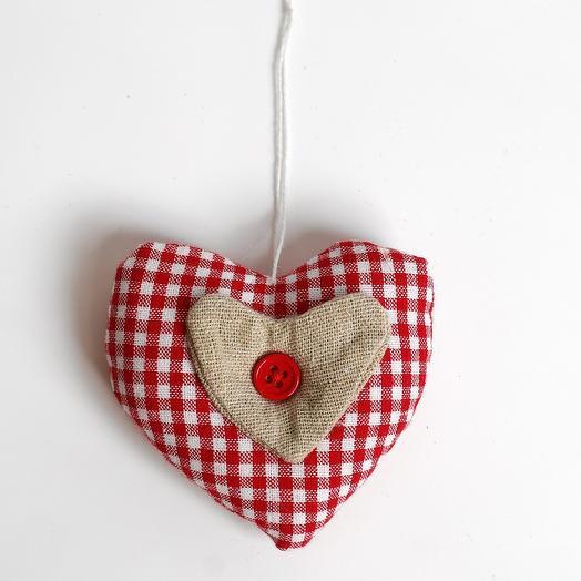 Сердечко Валентинка ручная работа