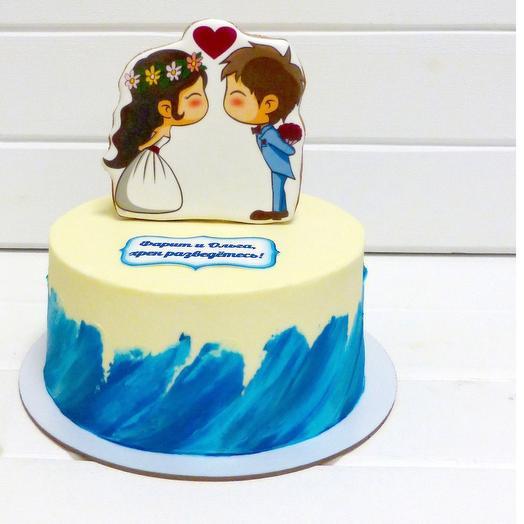 Торт Волна любви