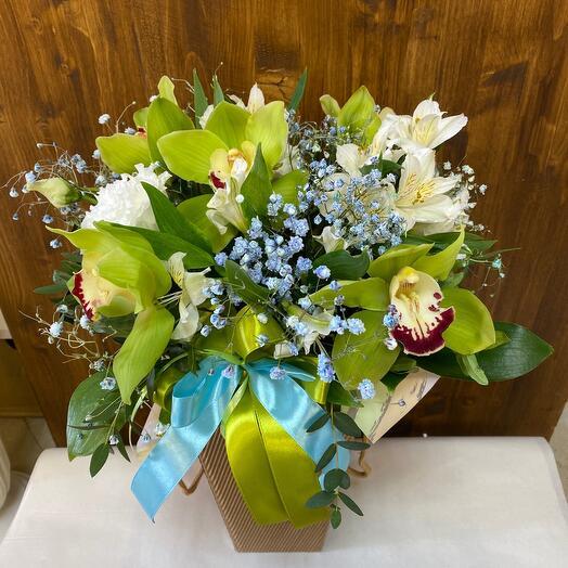 Цветы в коробочке для вашего настроения