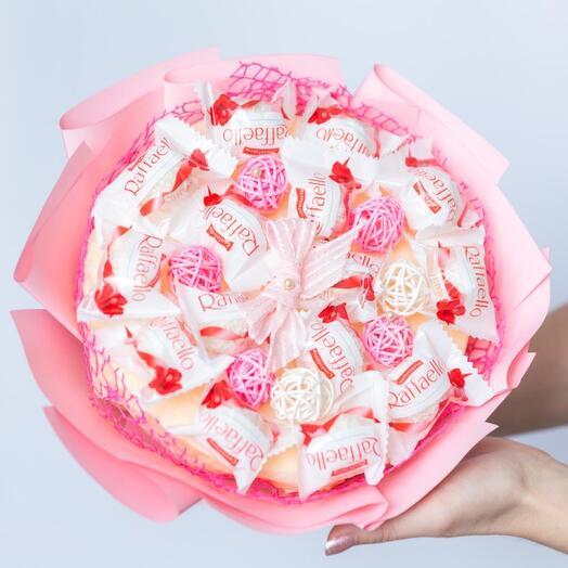 Букет из конфет Pink