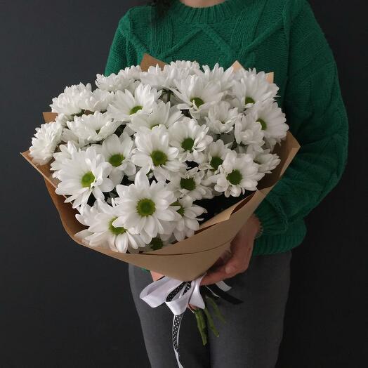Flowers Lowers - 7 кустовых ромашковых хризантем