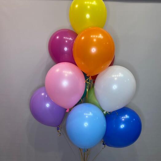 Фонтан из шариков «Радужный»