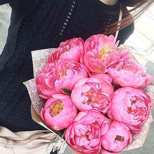 Коралловый шарм: букеты цветов на заказ Flowwow