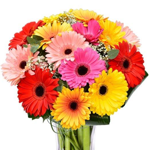 Монобукет GERBERAS: букеты цветов на заказ Flowwow