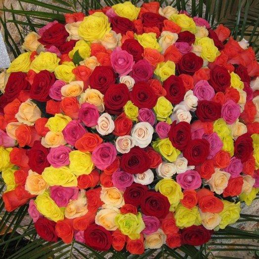 201 микс роза: букеты цветов на заказ Flowwow