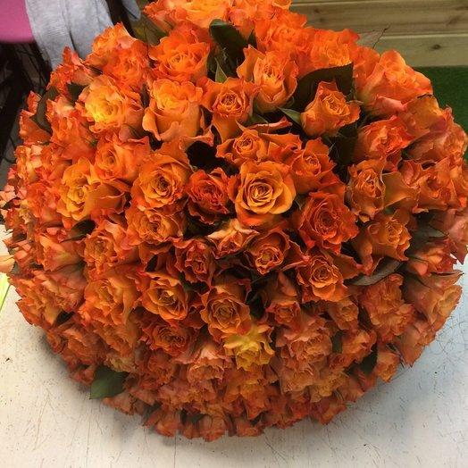 Оранжевое облако: букеты цветов на заказ Flowwow