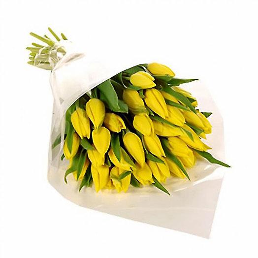 Букет «Золотые капли»: букеты цветов на заказ Flowwow