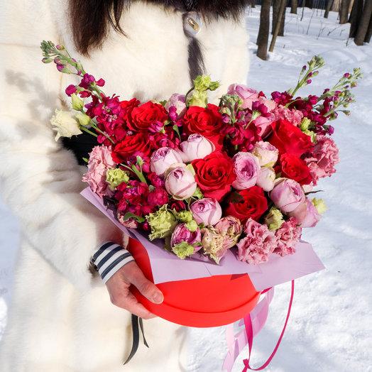 Огонь желаний: букеты цветов на заказ Flowwow