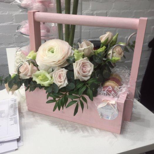 Зефирные сладости: букеты цветов на заказ Flowwow