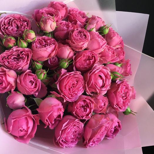 Пионовидная роза : букеты цветов на заказ Flowwow