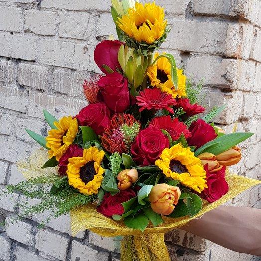 Победителю: букеты цветов на заказ Flowwow