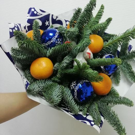 Букет с кислинкой: букеты цветов на заказ Flowwow