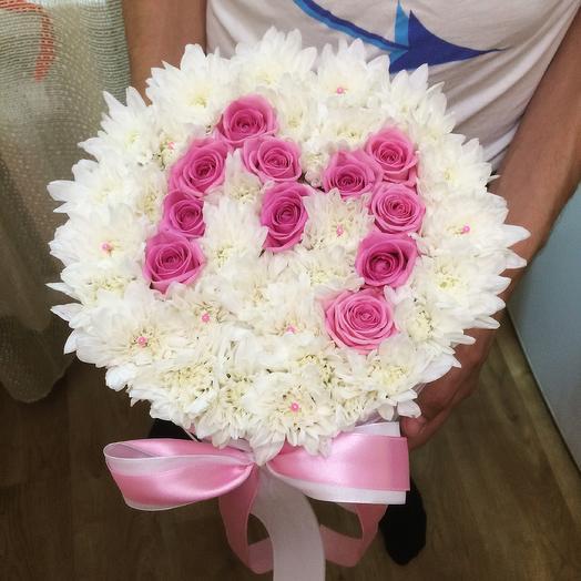 Первая буква имени: букеты цветов на заказ Flowwow