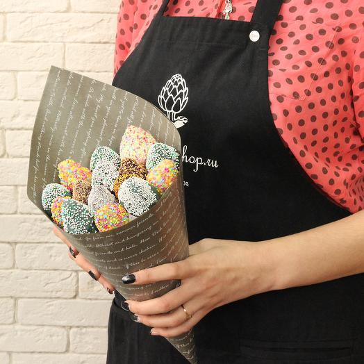 Букет клубника в шоколаде: букеты цветов на заказ Flowwow