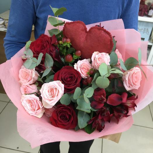 Сердце афродиты: букеты цветов на заказ Flowwow