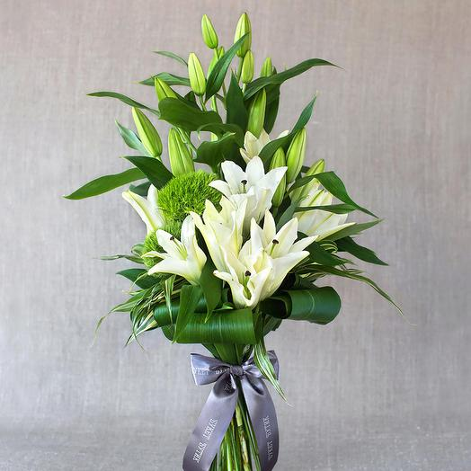 """Вертикальный букет """"Нью-Йорк"""": букеты цветов на заказ Flowwow"""