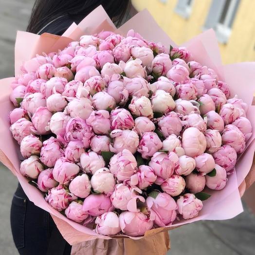 151 Пион Сара Бернар: букеты цветов на заказ Flowwow