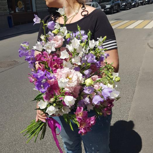 Самый летний букет по супер цене: букеты цветов на заказ Flowwow
