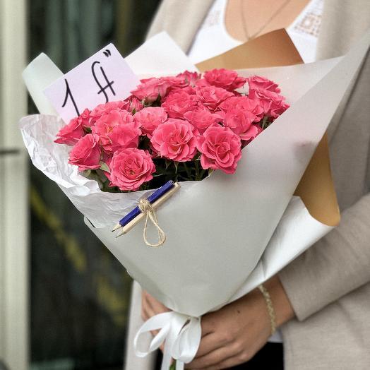 Моно букет на 1 сентября: букеты цветов на заказ Flowwow