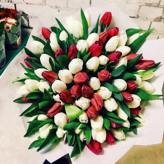 Охапка весны: букеты цветов на заказ Flowwow