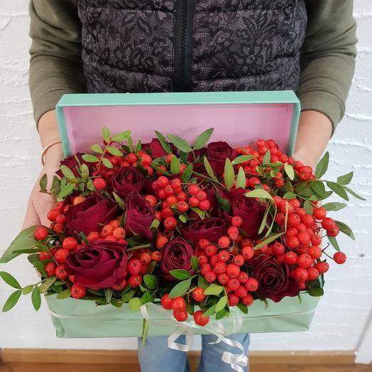 Рубины в красном: букеты цветов на заказ Flowwow