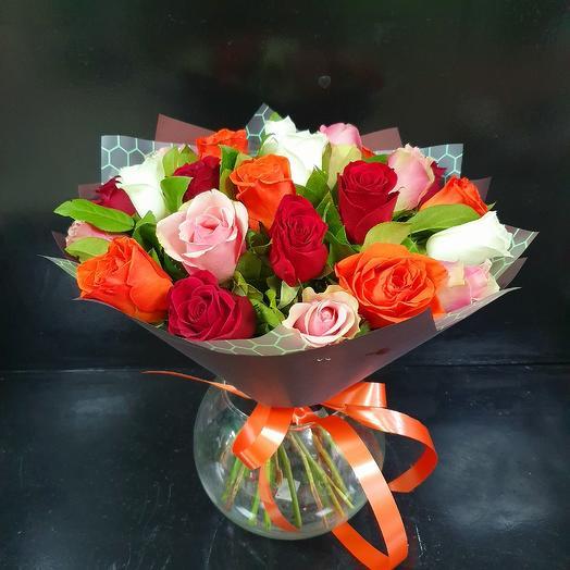 Букет 190: букеты цветов на заказ Flowwow