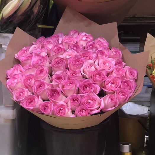 Охапка роз: букеты цветов на заказ Flowwow