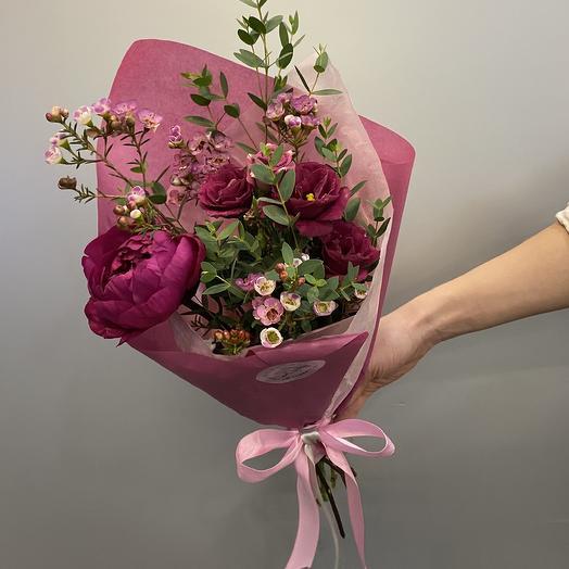 Букет «Виола»: букеты цветов на заказ Flowwow