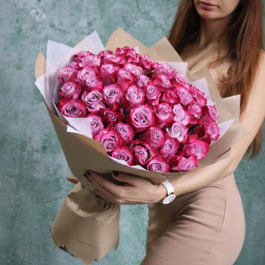 Букет Эквадорских роз: букеты цветов на заказ Flowwow