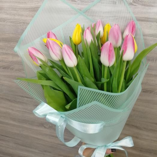 Букет из тюльпан Хит 15