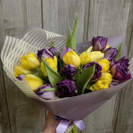 Тюльпаны: букеты цветов на заказ Flowwow
