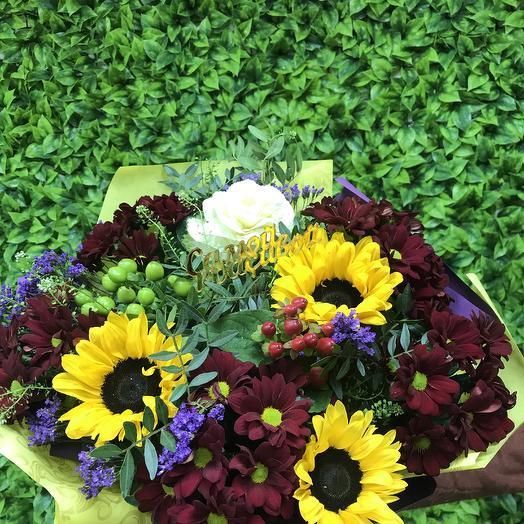 Июнь в феврале: букеты цветов на заказ Flowwow