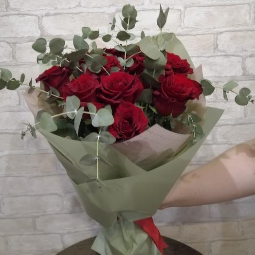 Букет из 11 эквадорских роз Эксплорер