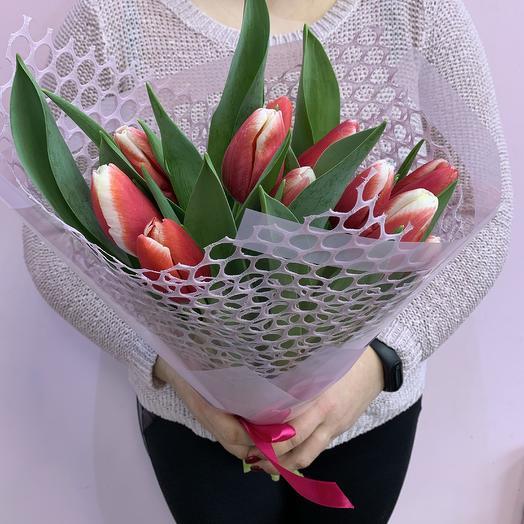 Букет «11 Тюльпанов»