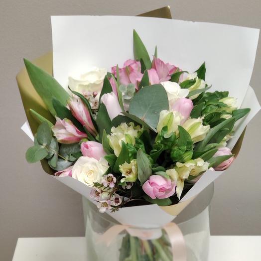 Наступление тепла: букеты цветов на заказ Flowwow