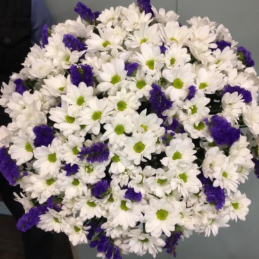 Белое поле: букеты цветов на заказ Flowwow
